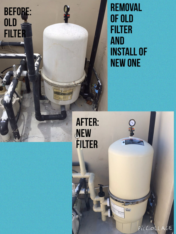 Before & After Filter